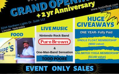 Grand Opening + 2 yr Anniversary Celebration