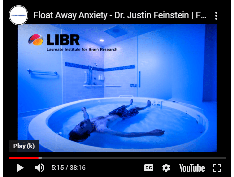 FLOAT ANXIETY AWAY!